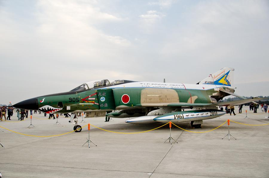 第501飛行隊創設50周年記念のRF-4E(47-6905)