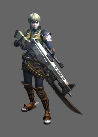ライフル×【技力特化】