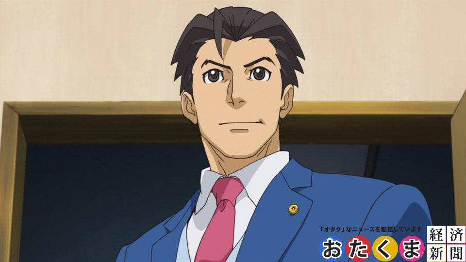 「逆転裁判5」アニメーションパート