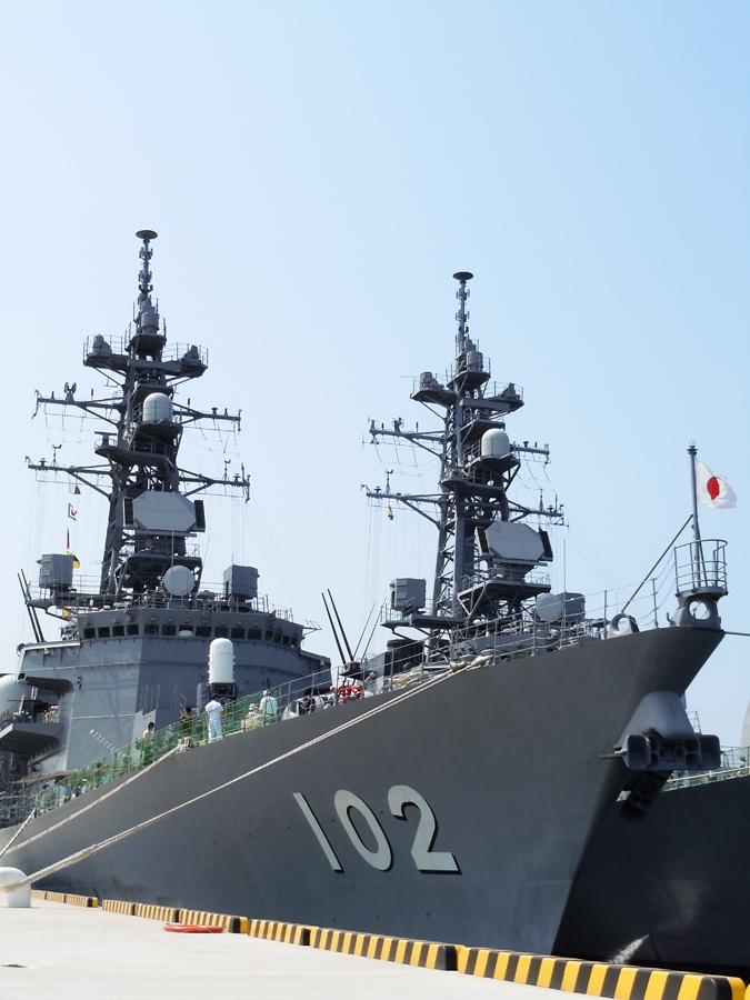 護衛艦はるさめ(DD-102)