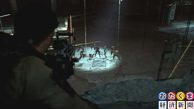 ジェイク達を援護するピアーズ