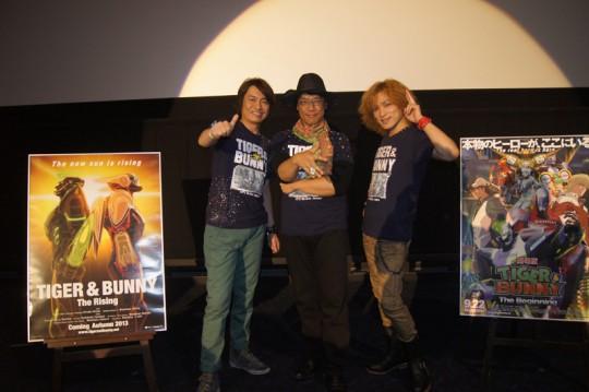 「劇場版 TIGER&BUNNY -The Beginning-」大ヒット御礼舞台挨拶