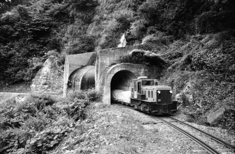 滝の谷トンネル