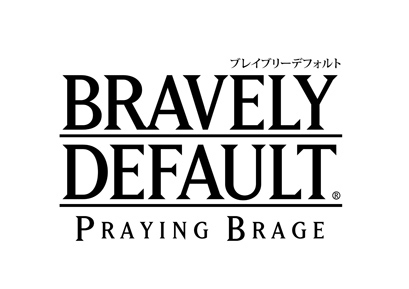 BRAVELY DEFAULT PRAYING BRAGE ロゴ