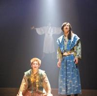 大羽快の漫画「殿といっしょ」原作の舞台が21日に初日
