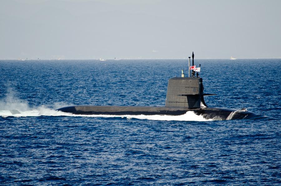 最新鋭の潜水艦けんりゅう(SS-504)・11日