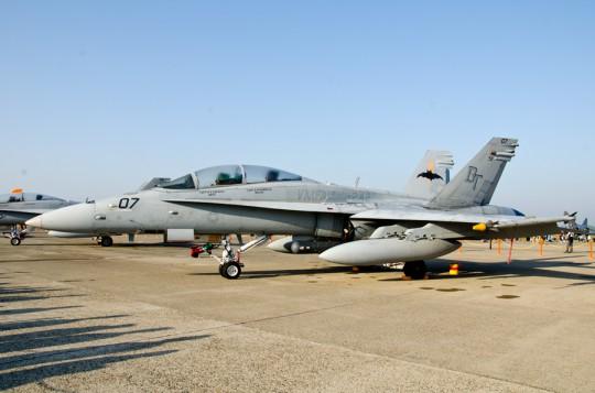 米海兵隊のF/A-18D