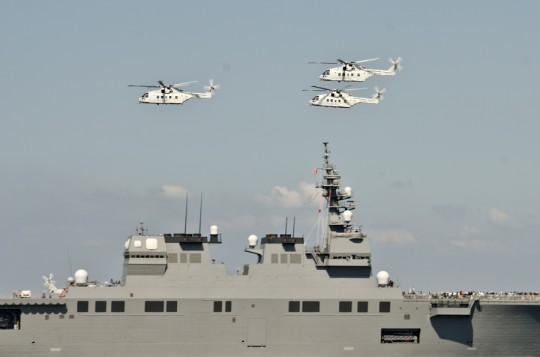 第2群:MCH-101による3機編隊・8日