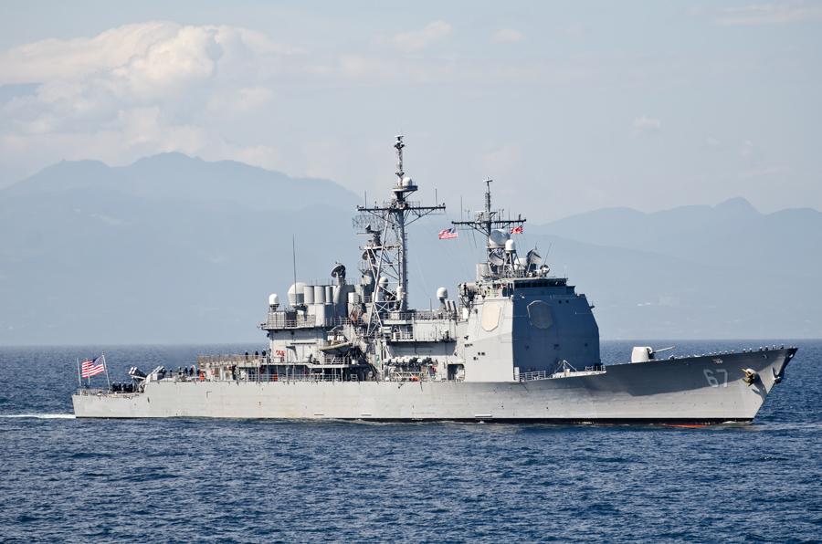 アメリカ海軍からは地元横須賀にいる巡洋艦シャイロー(CG-67)が参加・11日