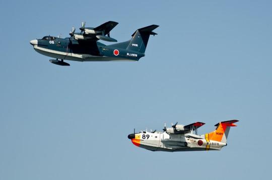 第6群・第7群:US-1AとUS-2。US-1Aは最後の観艦式参加・8日