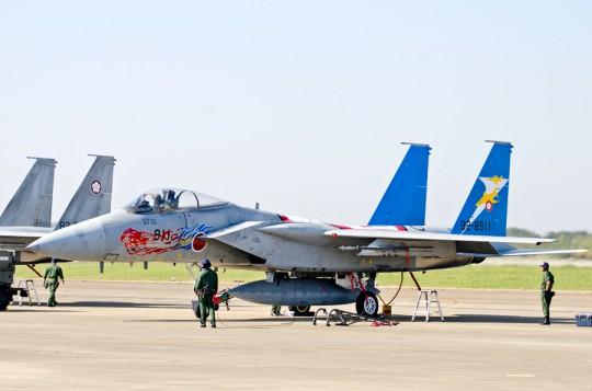 305飛行隊F-15改編20周年塗装機