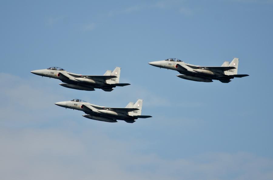 百里基地・第305飛行隊のF-15J/DJ・11日