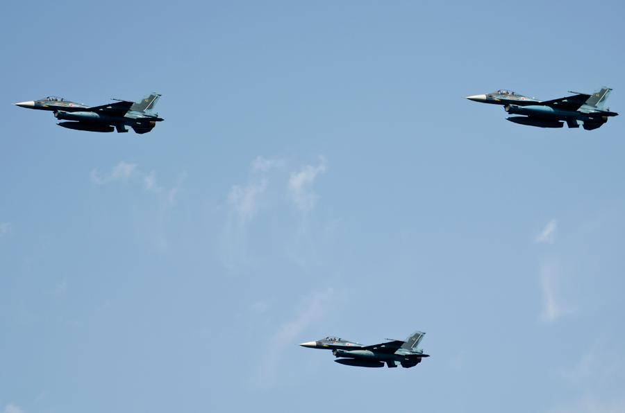 三沢基地・第8飛行隊のF-2A・8日