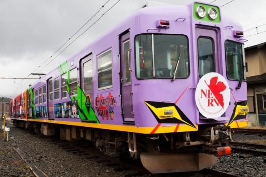 「ヱヴァンゲリヲン新劇場版:Q」記念列車