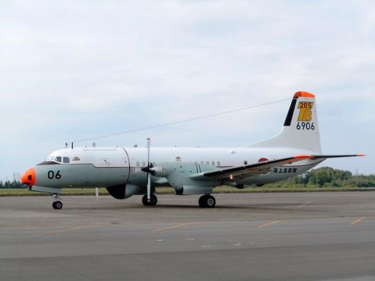 最後に完成したYS-11は海上自衛隊のYS-11T-A・6906