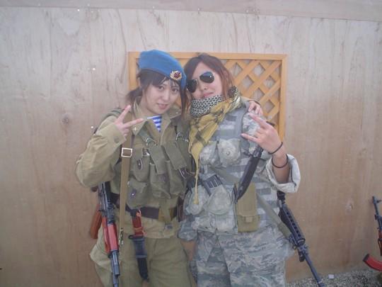 女性グループの記念撮影