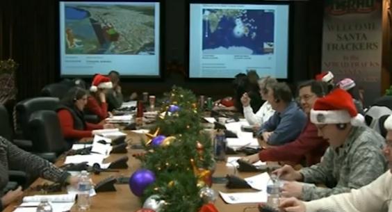 北米航空宇宙防衛司令部が今年も総力を挙げて挑む「サンタ追跡プロジェクト」