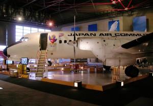 三沢航空科学館のJA8776