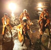 舞台『ドリームジャンボ宝ぶね』オリジナルユニット「DA2-DANZIN」PV撮影現場にスネーク