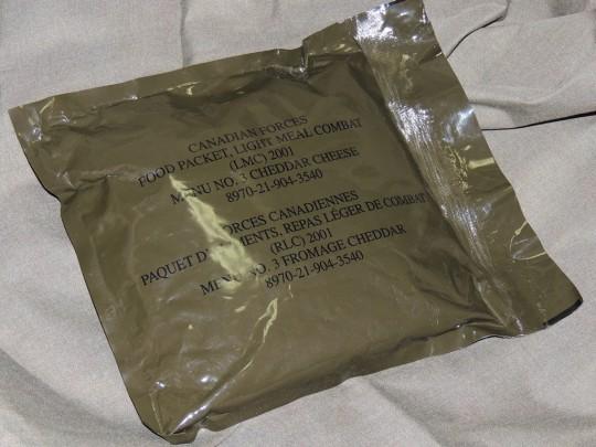 カナダ軍軽量レーションパッケージ