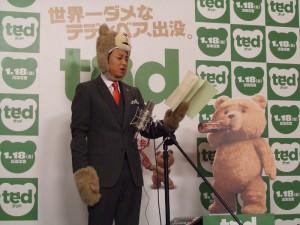 『テッド』アフレコ風景