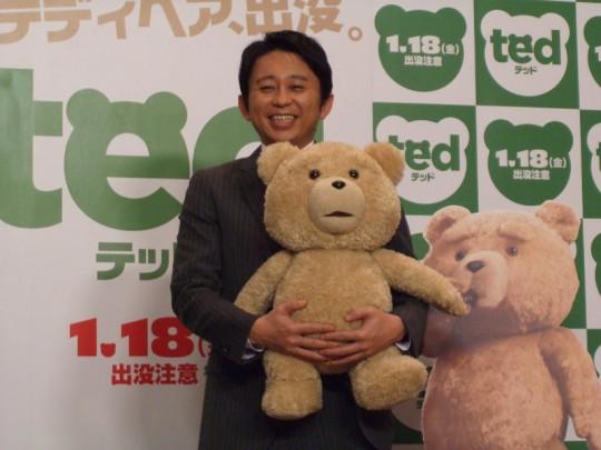 『テッド』は、日本では、2013年1月18日(金)より、TOHOシネマズスカラ座他で全国公開