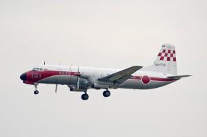第403飛行隊のYS-11P