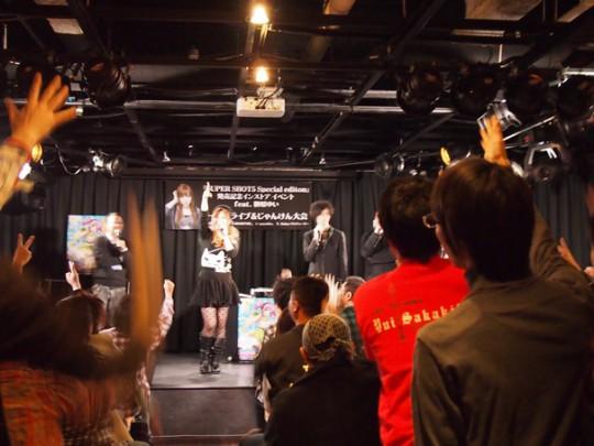 続いては、SHOT MUSICのプロデューサーY.Seinoによる、出演者全員のサインをかけたじゃんけんタ~イム!!
