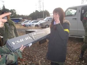 賞品のVSR-10