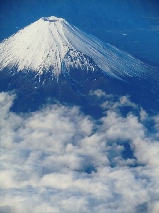 富士山にも乱気流が発生する