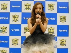 CM放映後、我らが「ともちん」こと、板野友美さんが登壇