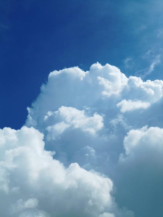 積乱雲は飛行機の強敵