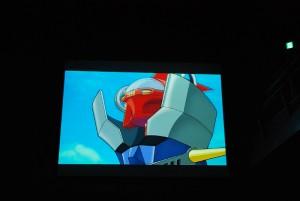 水木と「マジンガーZ」のコラボアニメ