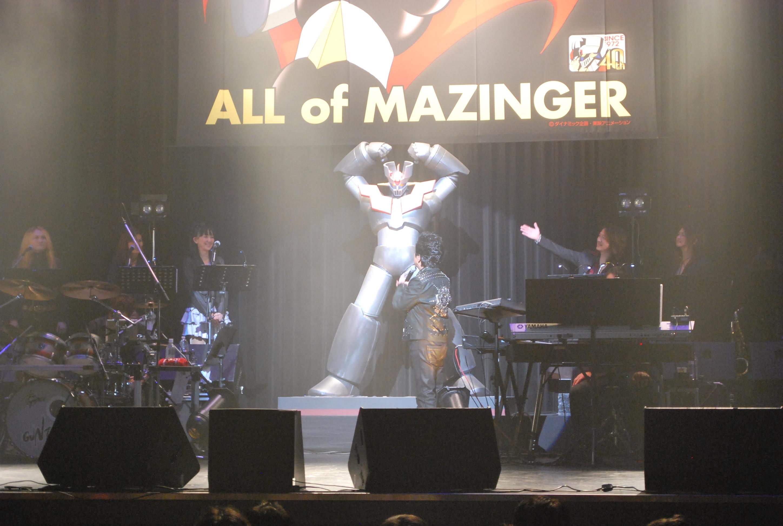 『水木一郎 All of Mazinger Live』