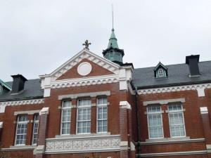 大学の校舎のようなデザイン