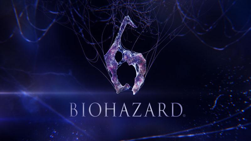 『バイオハザード6』ロゴ