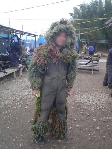 自作偽造網スーツ