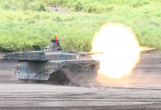 「富士総合火力演習」写真
