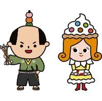 レアゆるキャラを発見! 日本最大のお菓子の祭典『ひろしま菓子博2013』に出没中