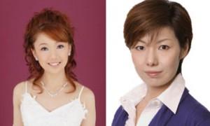 写真右:麻園みき、写真左:美苑えりか