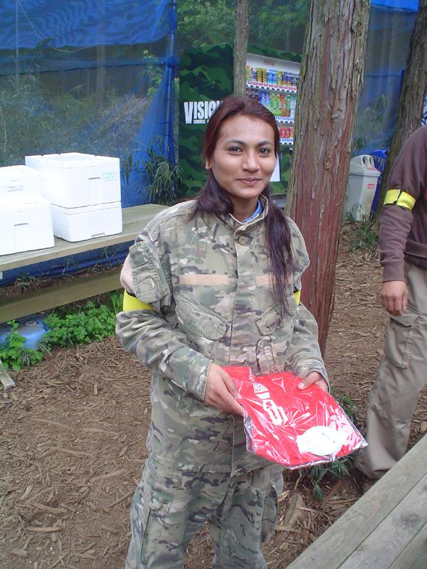 No4.獲得したネパール人女性