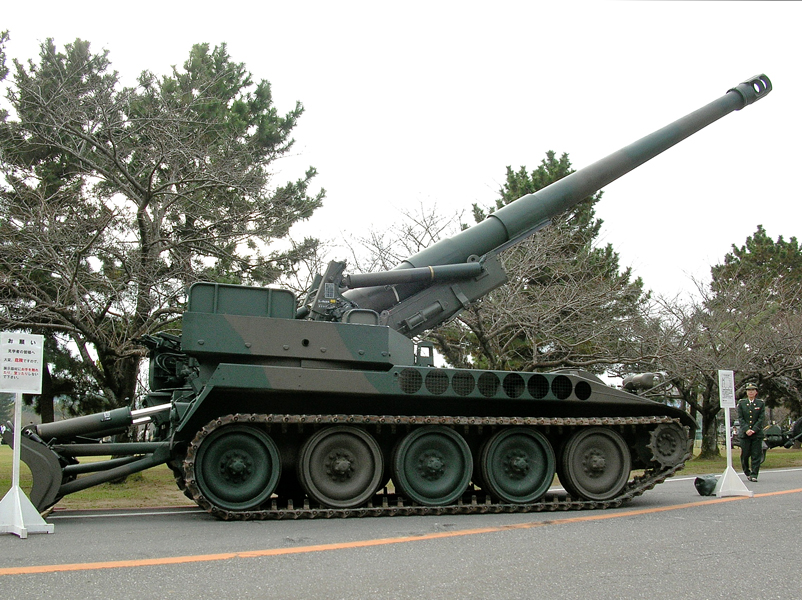 203mm自走りゅう弾砲