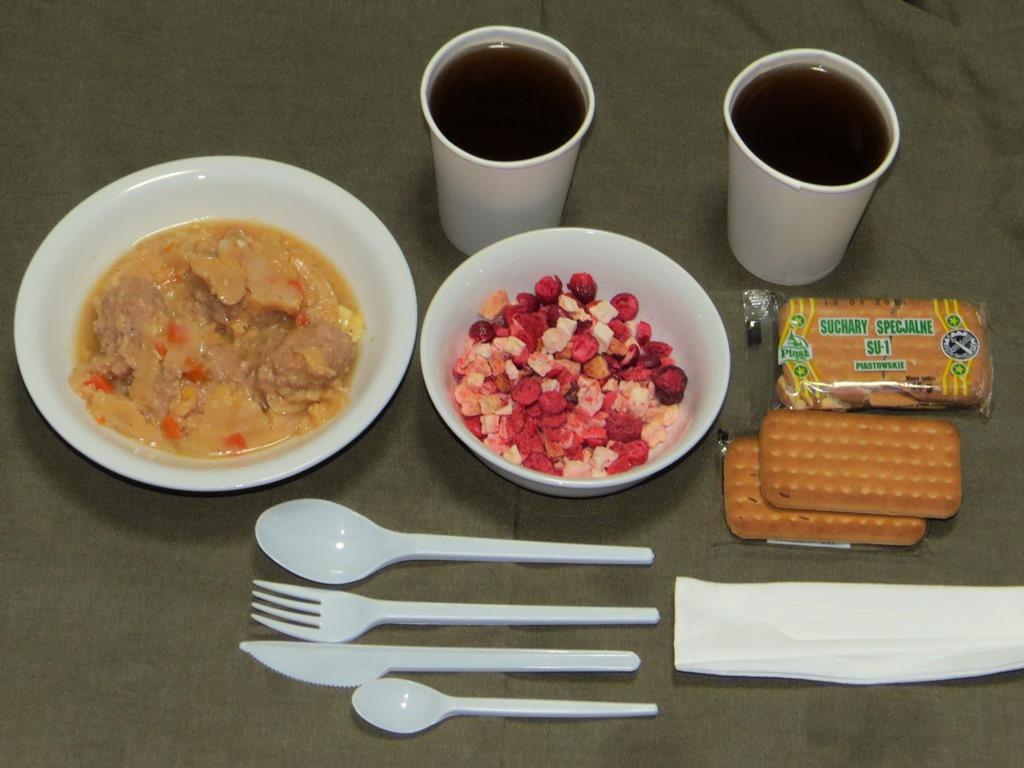 ポーランド軍レーション食事B