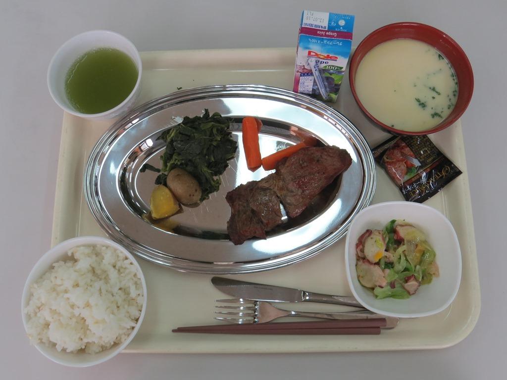 陸自富士学校昼食