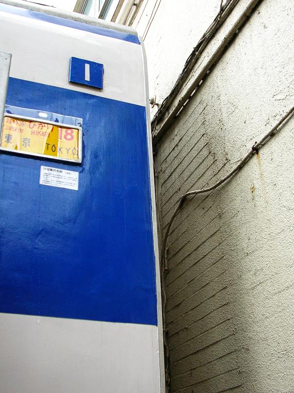 外壁タイルは塗り込められている