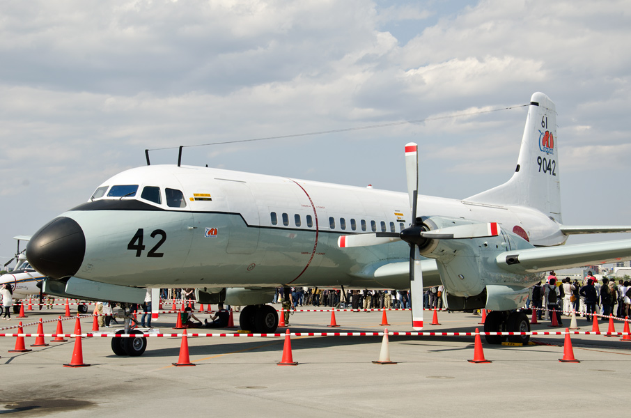 61航空隊のYS-11は来年引退予定