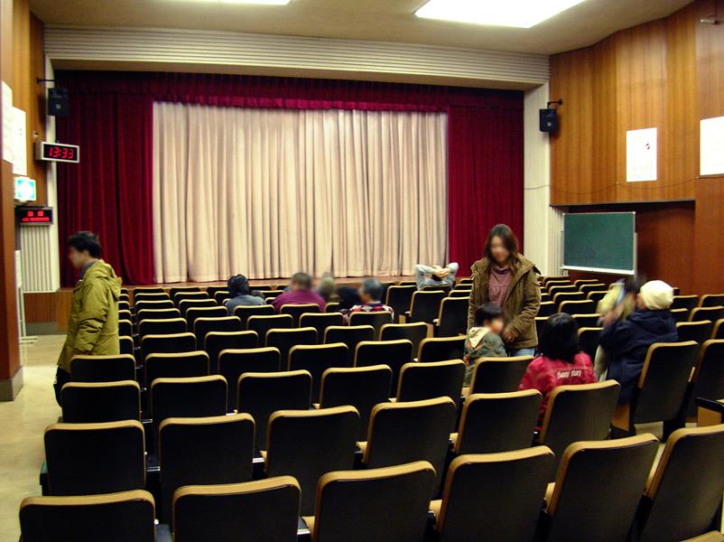 3階の映画ホール