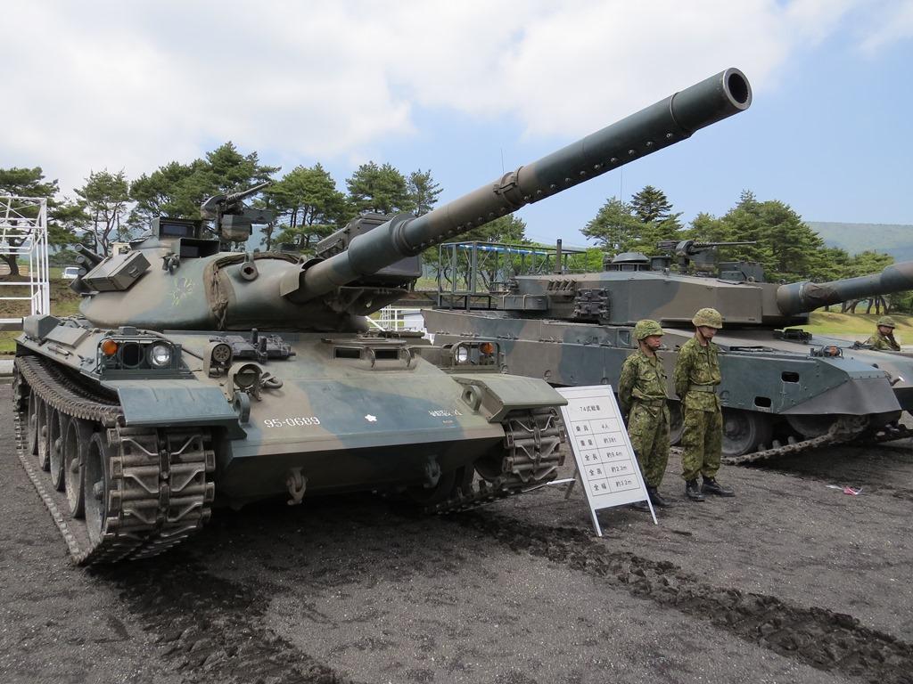 陸自富士学校機甲科装備