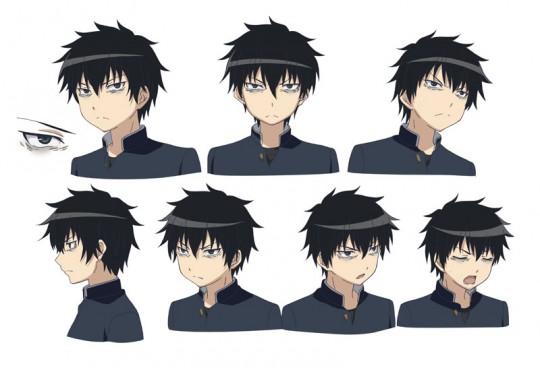 黒木智貴-表情(シャツ黒ver)