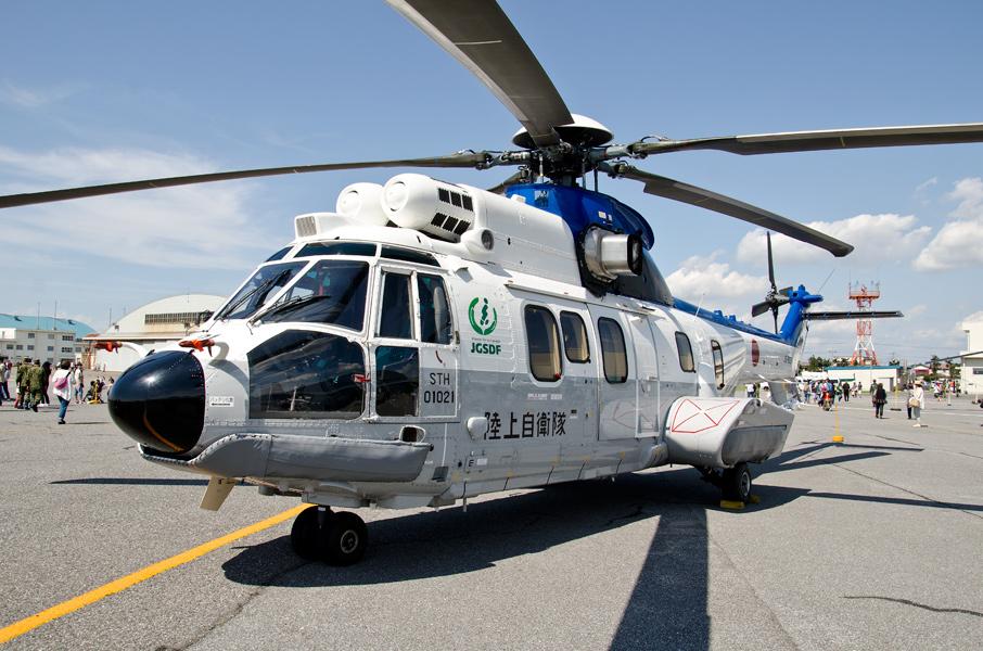 特別輸送ヘリコプター隊のEC225LP